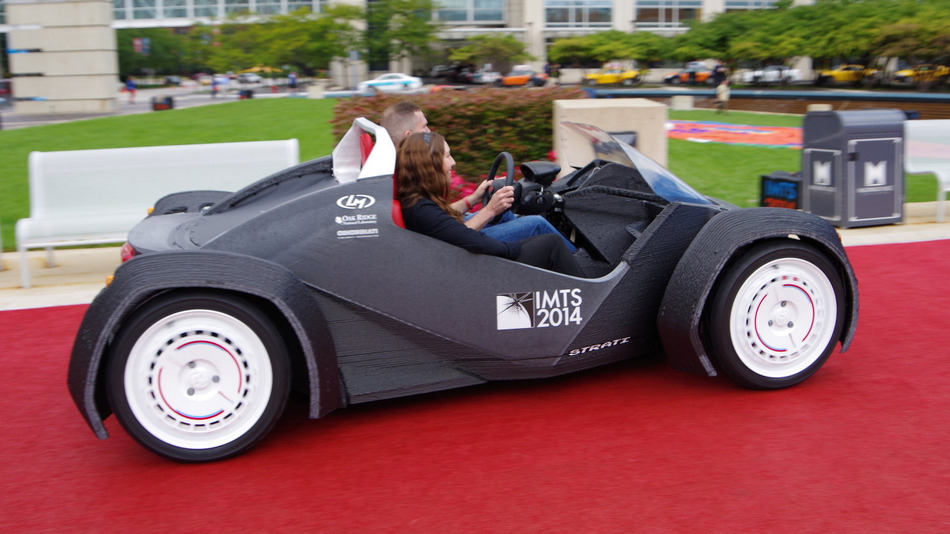 Local Motors LM3D – The World\'s First 3D Printed Car – CADagency